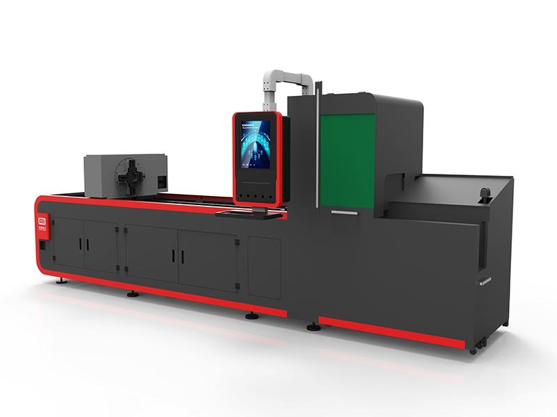 鹤山光纤激光专业管材切割机 AD6008.00T